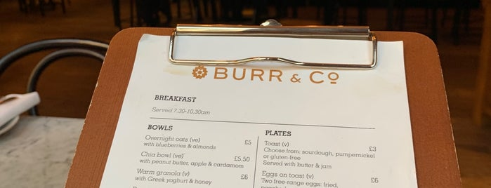 Burr & Co is one of London.