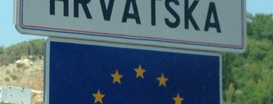 Granični prelaz Debeli brijeg (MNE) - Karasovići (HR) is one of Erkan : понравившиеся места.