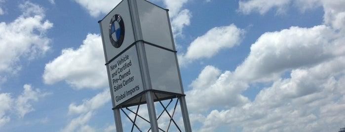 Global Imports BMW is one of Orte, die Yoshi gefallen.