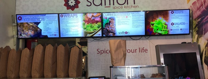 Saffron Spice Kitchen is one of Cheap Eats Toronto.