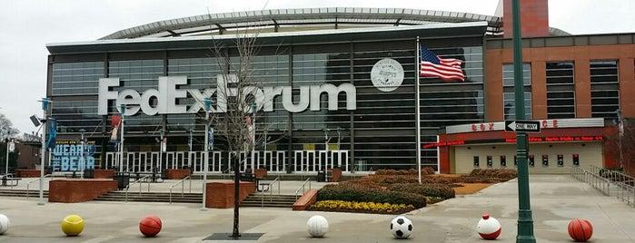 FedExForum is one of Sporting Venues....