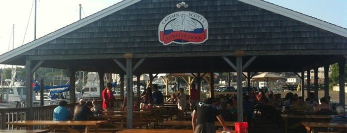 Captain Scott's Lobster Dock is one of Out of town.