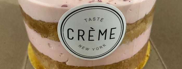 Taste Crème is one of Dessert, Bakeries, & Cafes - to do.