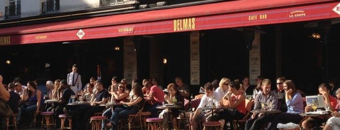 Café Delmas is one of Mes restaurants favoris à Paris 1/2.