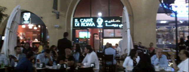 Il Caffe di Roma is one of Dubai's very best Places = P.Favs.
