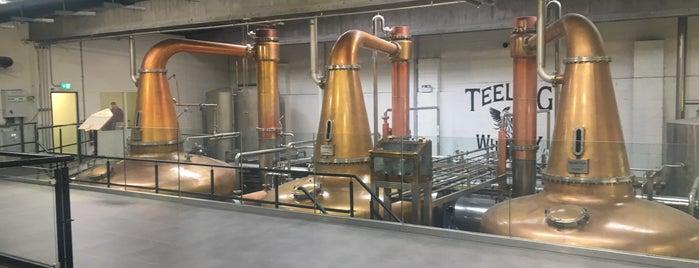 Teeling Whiskey Distillery is one of Dublin.