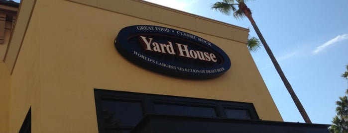 Yard House is one of Eat, drink & be merry.