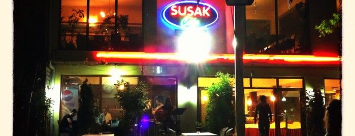 Susak Cafe is one of Cemさんのお気に入りスポット.