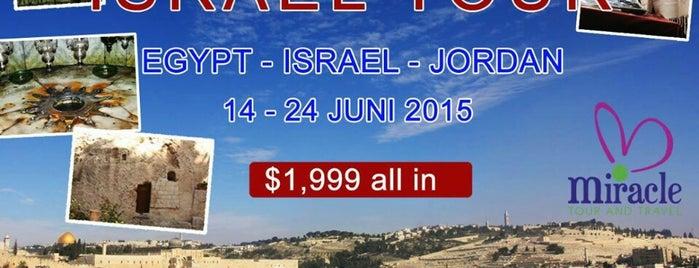 Holyland Tour ☎ +62811 840 6210/(021) 3305 9996