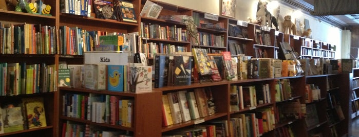 The Spotty Dog Books & Ale is one of Hudson, NY.