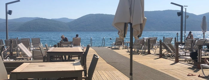 Filika Beach is one of Marmaris.