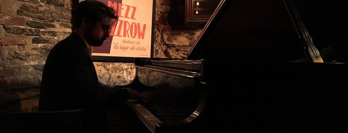 Mezzrow is one of Lieux sauvegardés par Mary.