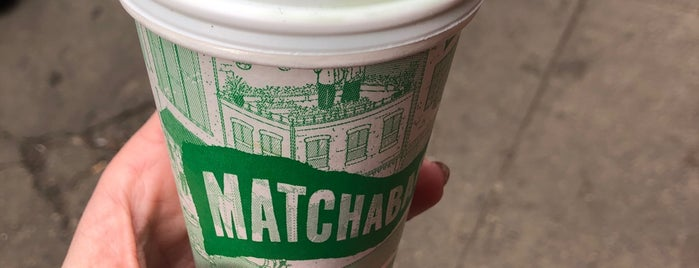 MatchaBar is one of Manhattan.