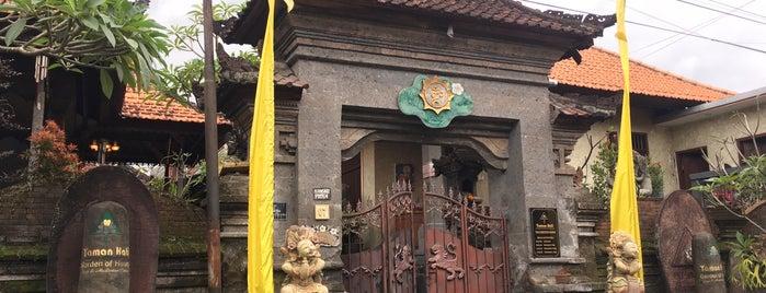 Taman Hati Yoga is one of Best Trip Advice Bali.