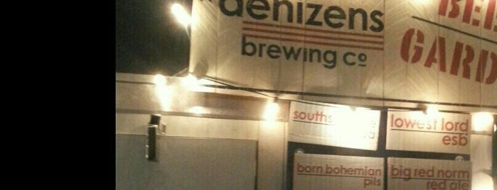 Denizens Brewing Co. is one of Lieux qui ont plu à Paul.