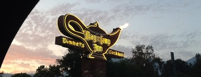 Magic Lamp Inn is one of Old Los Angeles Restaurants Part 1.