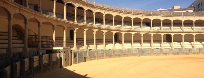 Plaza de Toros de Ronda is one of Places I've been.