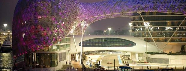 Yas Marina & Yacht Club is one of Royal: сохраненные места.
