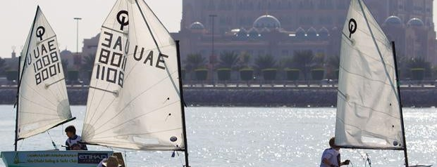 Abu Dhabi Sailing & Yacht Club is one of Places to travel.