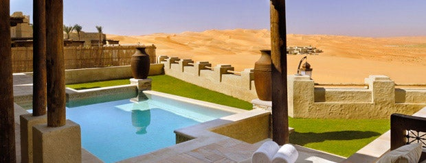 Qasr Al Sarab Desert Resort & Spa is one of Middle East.