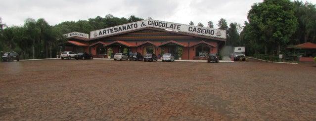 Três Fronteiras Artesanato e Chocolate Caseiro is one of Foz.