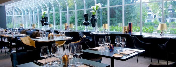 The Restaurant by Pierre Balthazar is one of สถานที่ที่บันทึกไว้ของ Geoffrey.