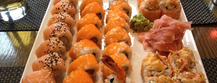 Silk Sushi Bar is one of Sushi Sampler.