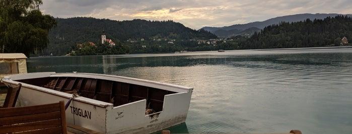 Gostilnica Pletna is one of Bled.