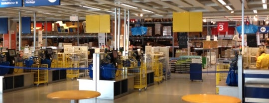 IKEA is one of Orte, die Christian gefallen.