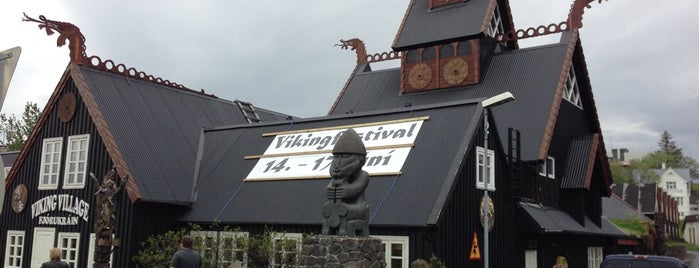 Fjörugarðurinn - The Viking Restaurant is one of Islandia 2014.