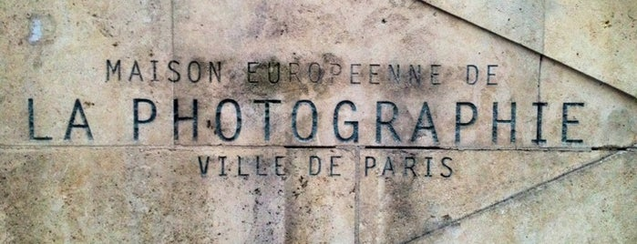 Maison Européenne de la Photographie is one of Three Jane's Guide to Paris.