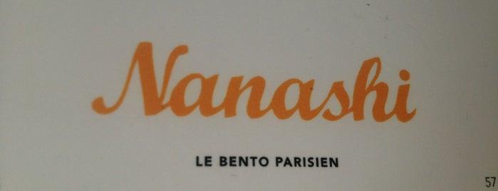 Nanashi is one of Paris.