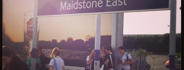 Maidstone East Railway Station (MDE) is one of mamma.