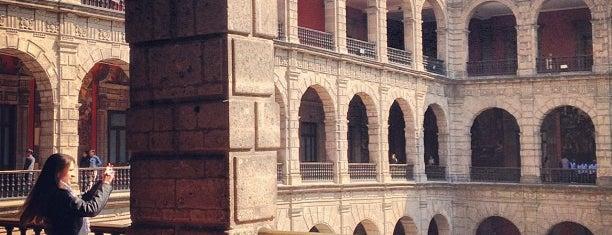 Palacio Nacional is one of Mexico, D.F., 2013.