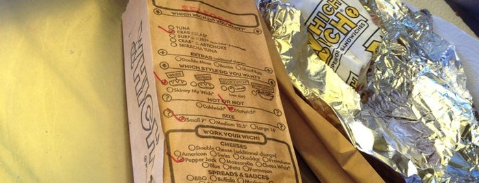 Which Wich? Superior Sandwiches is one of mark (Jason) : понравившиеся места.