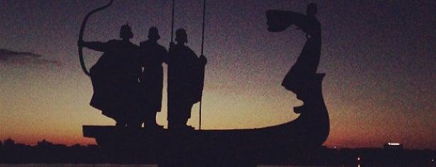Пам'ятник засновникам Києва (Кий, Щек, Хорив та Либідь) is one of Illia 님이 좋아한 장소.
