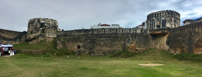 Old Fort Zanzibar is one of Lugares favoritos de Illia.