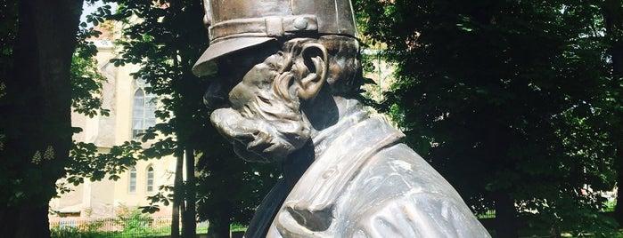 Пам'ятник Францу Йосифу I is one of Черновцы.