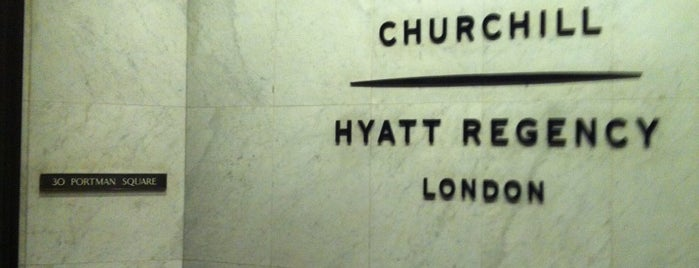 Hyatt Regency London The Churchill is one of Lugares favoritos de Karen.