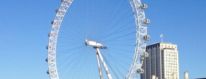 The London Eye is one of Tipy v Londýně.