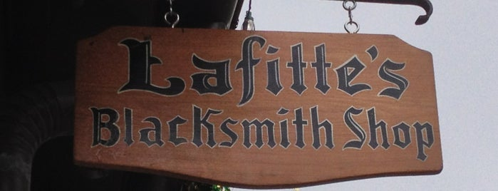 Lafitte's Blacksmith Shop is one of Where in the World (To Drink).