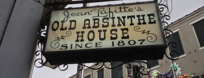 The Old Absinthe House is one of Favorite Places in New Orleans.