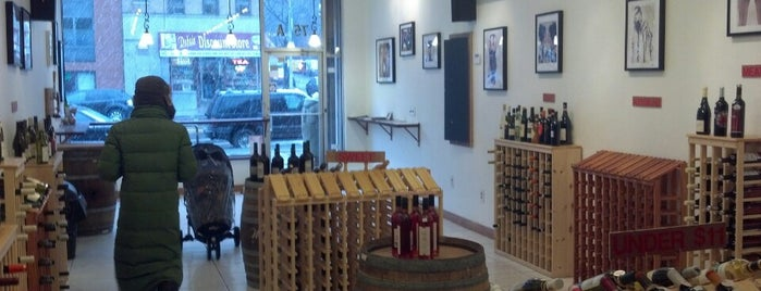 The Harlem Wine Gallery is one of by necessity, not necessarily by choice (1 of 2).