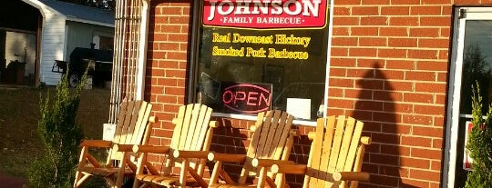 Johnson Family Barbecue is one of Durham, NC.