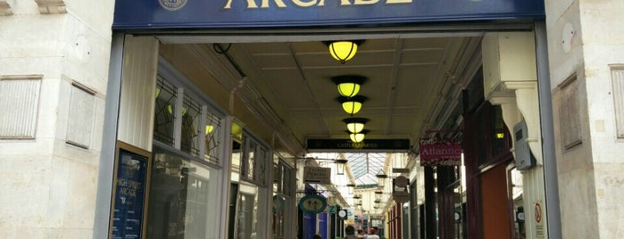 High Street Arcade is one of Local's Guide to Cardiff.