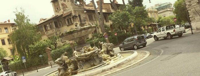 Quartiere Coppedé is one of 101 cose da fare a Roma almeno 1 volta nella vita.