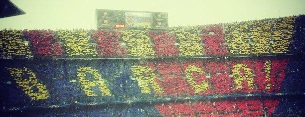 Camp Nou is one of Estadios de fútbol de 1ª.