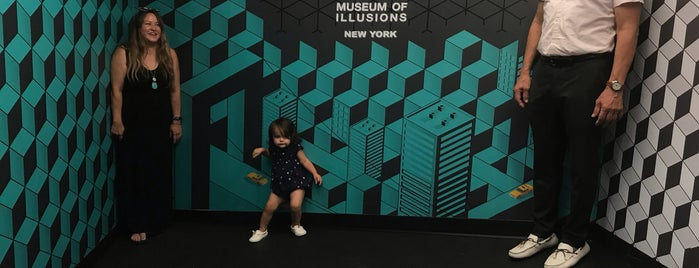 Museum of Illusions is one of Museums in NYC.