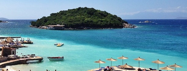 Bora Bora Beach is one of Ksamil.