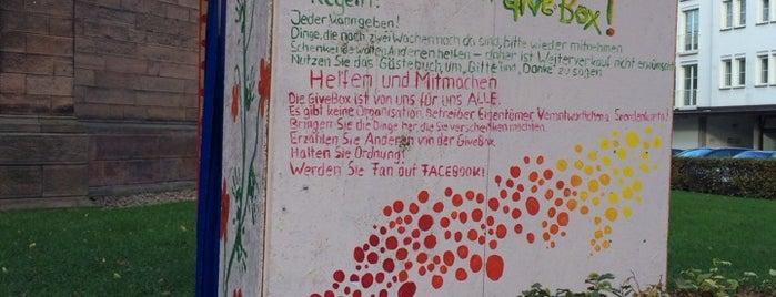 givebox offenburg is one of Givebox / Bücherschrank.